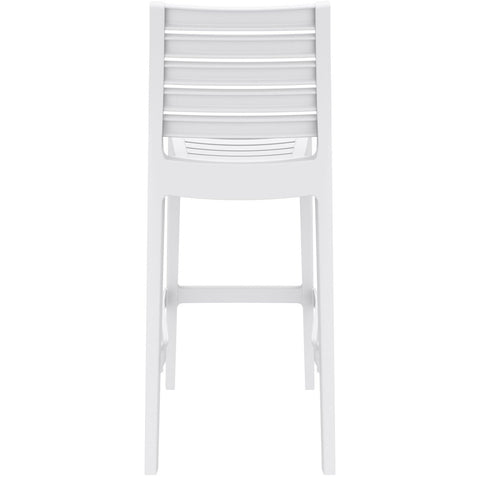 Compamia Ares Resin Barstool White ISP101-WHI - RestaurantFurniturePlus + Barstools - 5