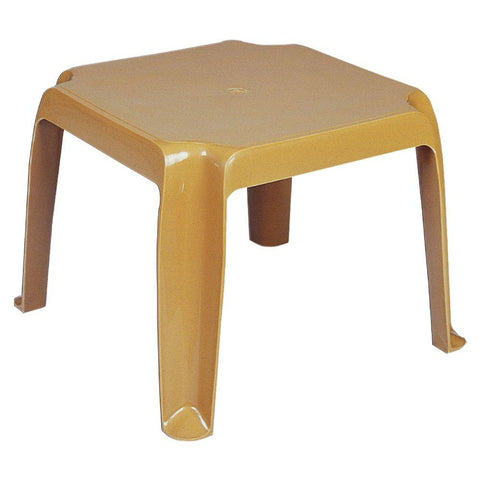 Sunray Resin Square Side Table