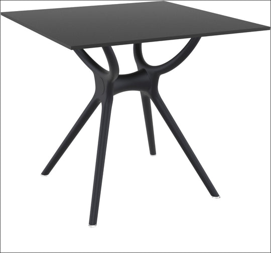 Compamia Air Square Table 31 inch Black ISP700-BLA - RestaurantFurniturePlus + Chairs, Tables and Outdoor - 3