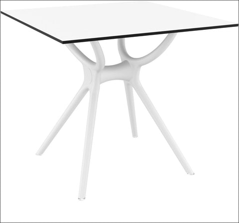 Compamia Air Square Table 31 inch White ISP700-WHI - RestaurantFurniturePlus + Chairs, Tables and Outdoor - 1