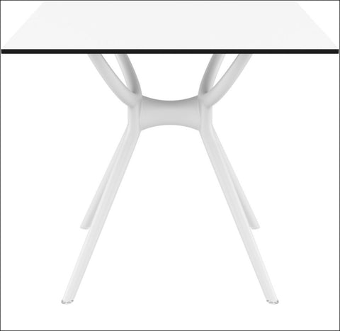 Compamia Air Square Table 31 inch White ISP700-WHI - RestaurantFurniturePlus + Chairs, Tables and Outdoor - 2