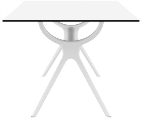 Compamia Air Rectangle Table 71 inch White ISP715-WHI - RestaurantFurniturePlus + Chairs, Tables and Outdoor - 3