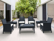 California  Wickerlook Casual Seating set 7 Piece