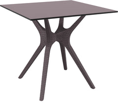 Compamia Ibiza Square Table 31 inch Brown ISP863-BR - 1