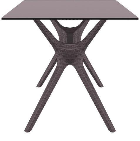 Compamia Ibiza Rectangle Table 55 inch Brown ISP864-BR - 2