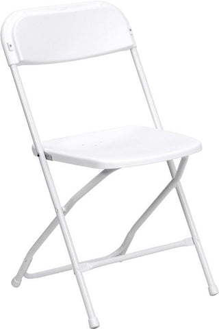 650 lb. Capacity Premium Plastic Folding Chair