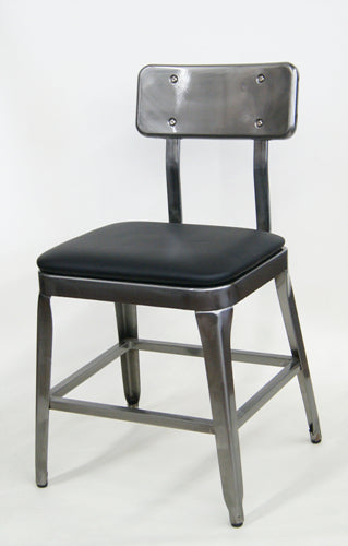 Octane Metal Chair (Upholstered)