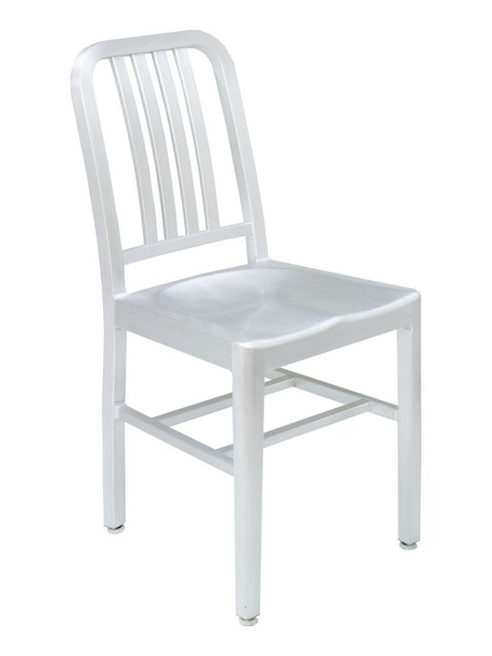 FS Anodized Aluminum Frame Chair With Solid Aluminum Seat