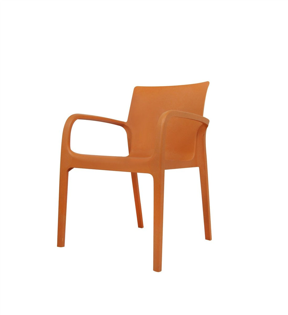 ALISSA Modern Designed Chair - Orange
