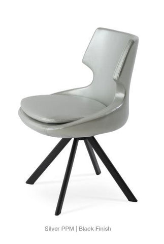 Patara Sword Dining Swivel Chair