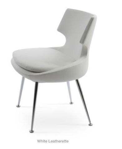 Patara Chair with Chrome Legs