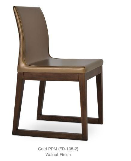 Polo Chair with Wood Sled Base - YourBarStoolStore + Chairs, Tables and Outdoor - 1