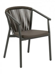 Powder Coated Aluminium Armchair