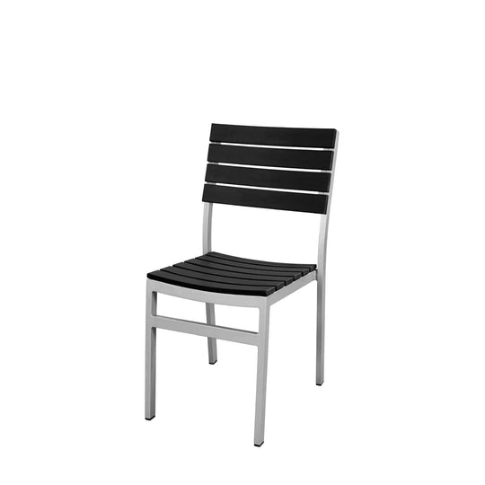 Vienna Dining Side Chair (Black) - YourBarStoolStore + Chairs, Tables and Outdoor