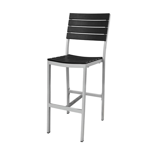Vienna Bar Side Chair (Black) - YourBarStoolStore + Chairs, Tables and Outdoor