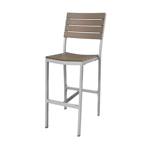 Vienna Bar Side Chair (Gray) - YourBarStoolStore + Chairs, Tables and Outdoor