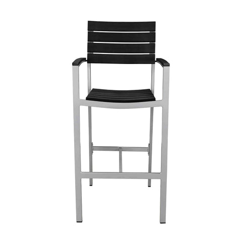 Vienna Bar Arm Chair (Black) - YourBarStoolStore + Chairs, Tables and Outdoor