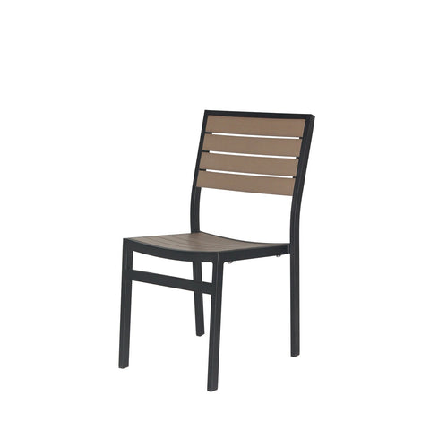 Napa Dining Side Chair (Black & Gray) - YourBarStoolStore + Chairs, Tables and Outdoor