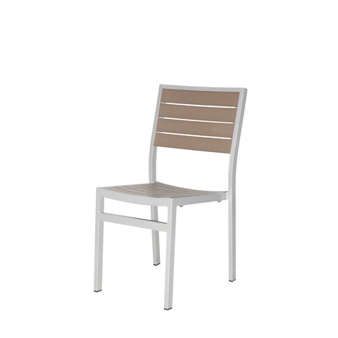 Napa Dining Side Chair (Silver & Gray) - YourBarStoolStore + Chairs, Tables and Outdoor