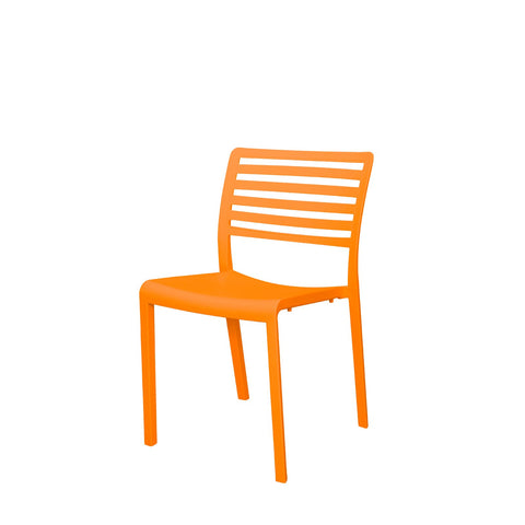 Savannah Dining Side Chair (Orange) - YourBarStoolStore + Chairs, Tables and Outdoor  - 1