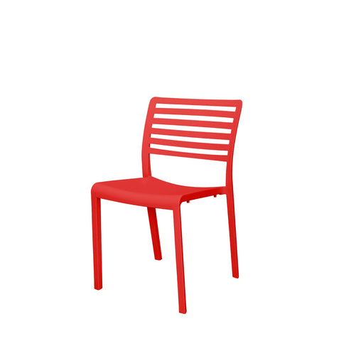Savannah Dining Side Chair (Red) - YourBarStoolStore + Chairs, Tables and Outdoor  - 1