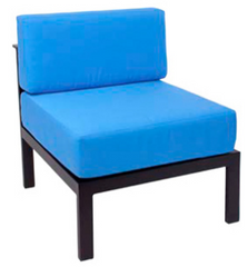 Outdoor Furniture Belmar Armless Middle Sofa