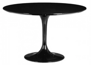 "Black 47"" Round Table"