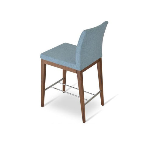 Soho Concept Aria Wood Counter Stools - YourBarStoolStore + Chairs, Tables and Outdoor - 10