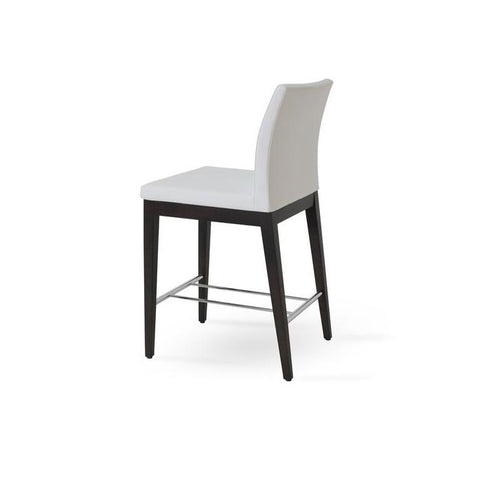 Soho Concept Aria Wood Counter Stools - YourBarStoolStore + Chairs, Tables and Outdoor - 11