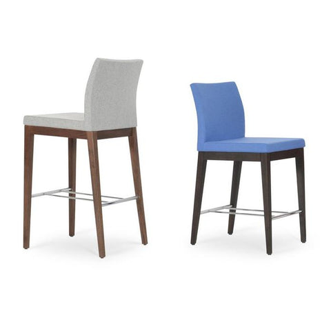 Soho Concept Aria Wood Counter Stools - YourBarStoolStore + Chairs, Tables and Outdoor - 12