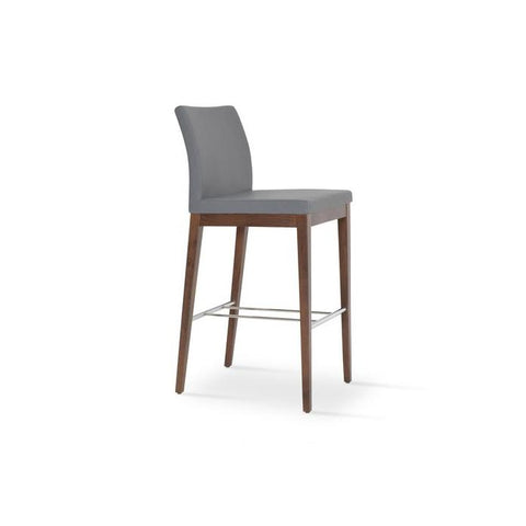 Soho Concept Aria Wood Counter Stools - YourBarStoolStore + Chairs, Tables and Outdoor - 14