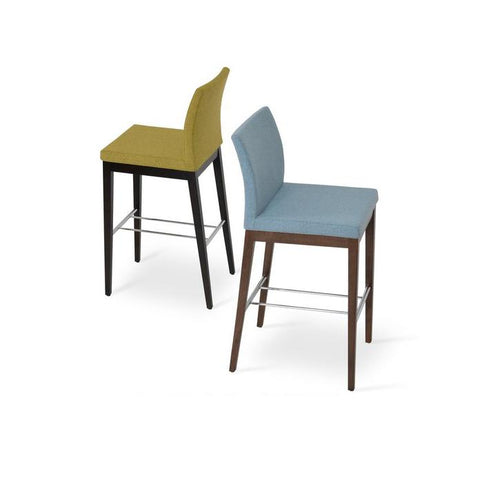 Soho Concept Aria Wood Counter Stools - YourBarStoolStore + Chairs, Tables and Outdoor - 15