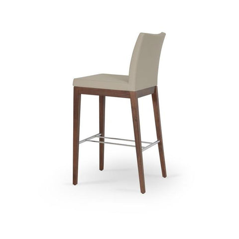 Soho Concept Aria Wood Counter Stools - YourBarStoolStore + Chairs, Tables and Outdoor - 18