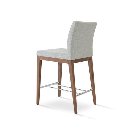 Soho Concept Aria Wood Counter Stools - YourBarStoolStore + Chairs, Tables and Outdoor - 2