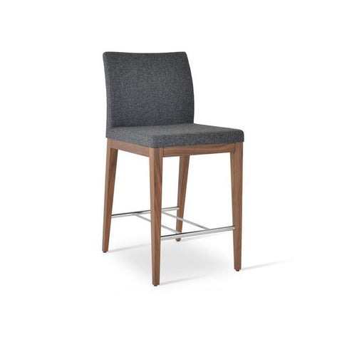 Soho Concept Aria Wood Counter Stools - YourBarStoolStore + Chairs, Tables and Outdoor - 3