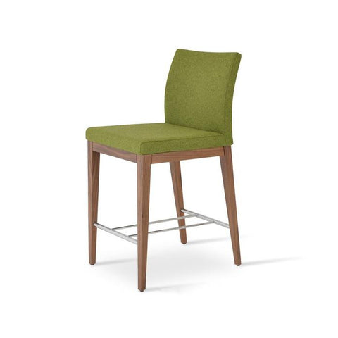 Soho Concept Aria Wood Counter Stools - YourBarStoolStore + Chairs, Tables and Outdoor - 4