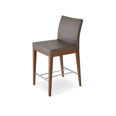 Soho Concept Aria Wood Counter Stools - YourBarStoolStore + Chairs, Tables and Outdoor - 5