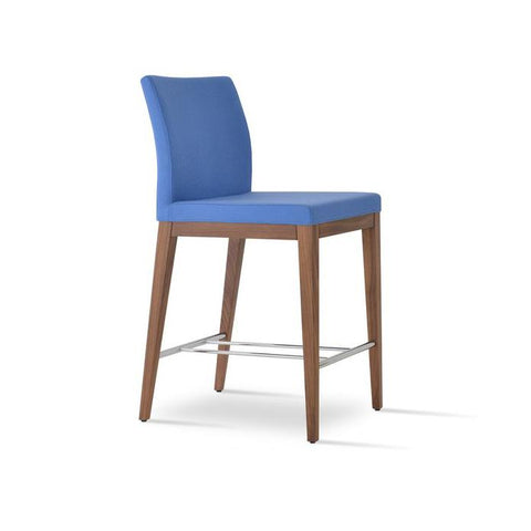 Soho Concept Aria Wood Counter Stools - YourBarStoolStore + Chairs, Tables and Outdoor - 7