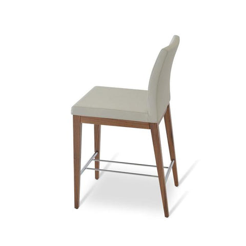 Soho Concept Aria Wood Counter Stools - YourBarStoolStore + Chairs, Tables and Outdoor - 8