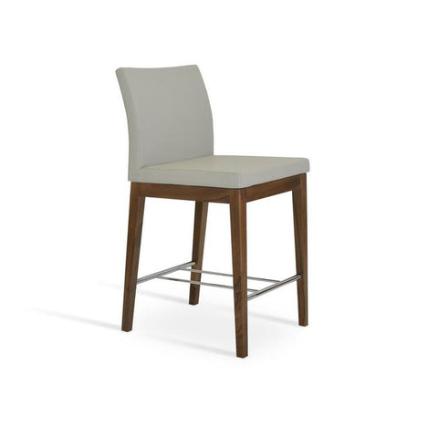 Soho Concept Aria Wood Counter Stools - YourBarStoolStore + Chairs, Tables and Outdoor - 9