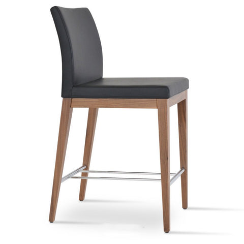 Soho Concept Aria Wood Counter Stools - YourBarStoolStore + Chairs, Tables and Outdoor - 1