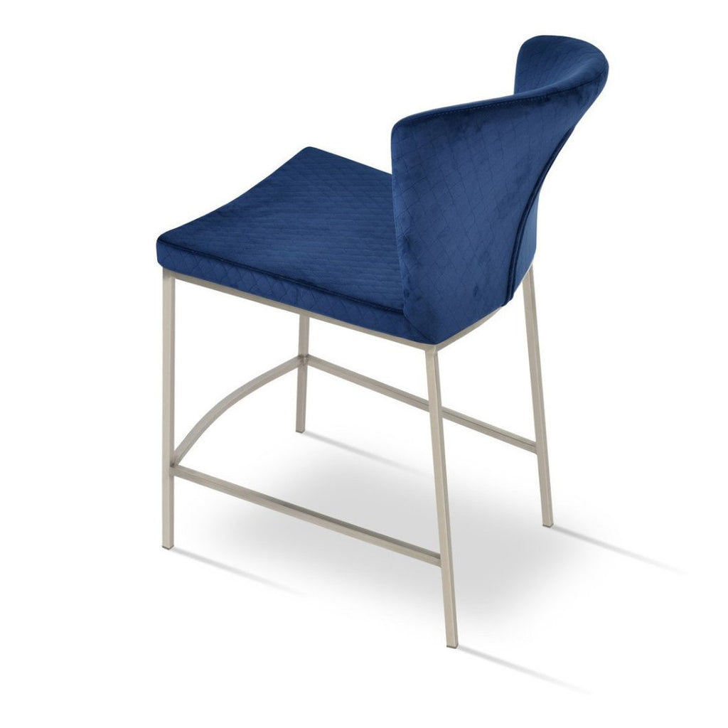 Soho Concept Capri Metal Counter Stools - YourBarStoolStore + Chairs, Tables and Outdoor