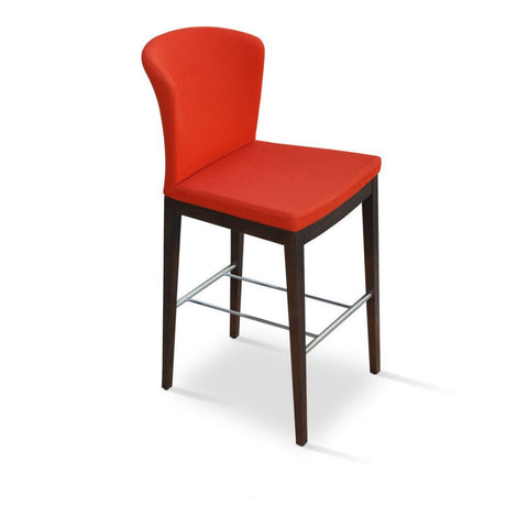 Soho Concept Capri Wood Counter Stools - YourBarStoolStore + Chairs, Tables and Outdoor - 1