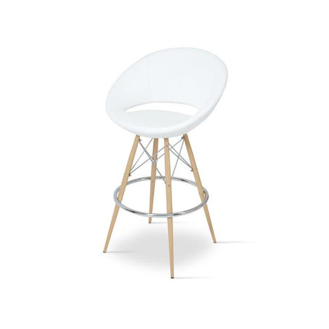 Soho Concept Crescent MW Bar Stools - YourBarStoolStore + Chairs, Tables and Outdoor - 10