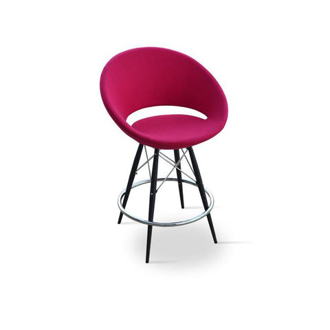 Soho Concept Crescent MW Bar Stools - YourBarStoolStore + Chairs, Tables and Outdoor - 12