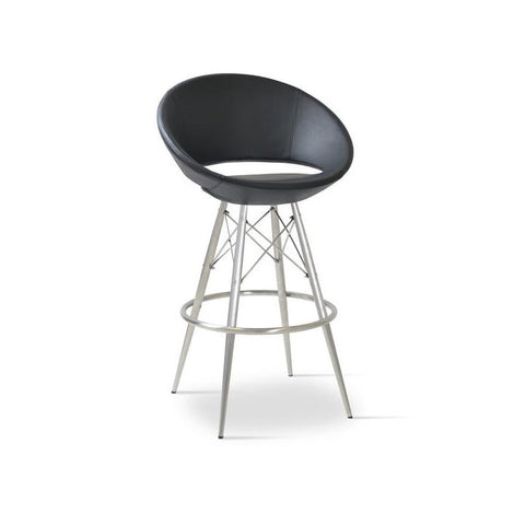 Soho Concept Crescent MW Bar Stools - YourBarStoolStore + Chairs, Tables and Outdoor - 2