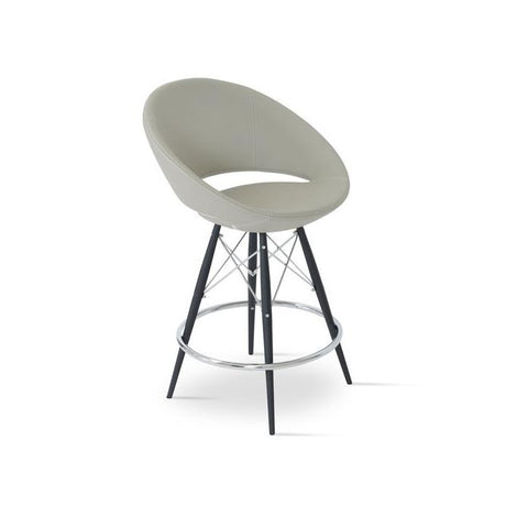 Soho Concept Crescent MW Bar Stools - YourBarStoolStore + Chairs, Tables and Outdoor - 3