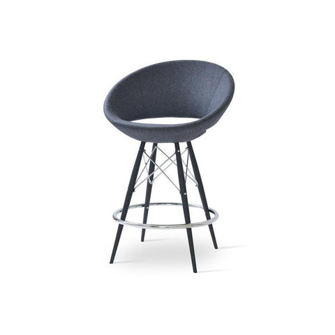 Soho Concept Crescent MW Bar Stools - YourBarStoolStore + Chairs, Tables and Outdoor - 4