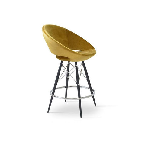 Soho Concept Crescent MW Bar Stools - YourBarStoolStore + Chairs, Tables and Outdoor - 5