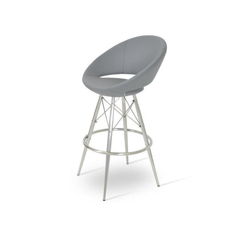 Soho Concept Crescent MW Bar Stools - YourBarStoolStore + Chairs, Tables and Outdoor - 6